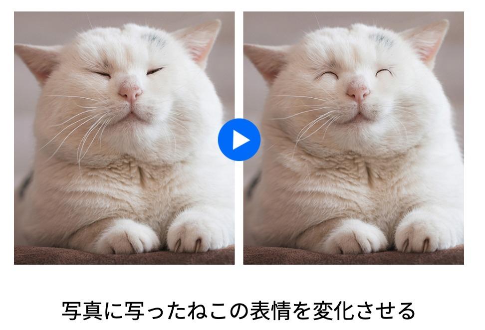 フォトショップで出来ることの例「被写体の表情や体型を変える」