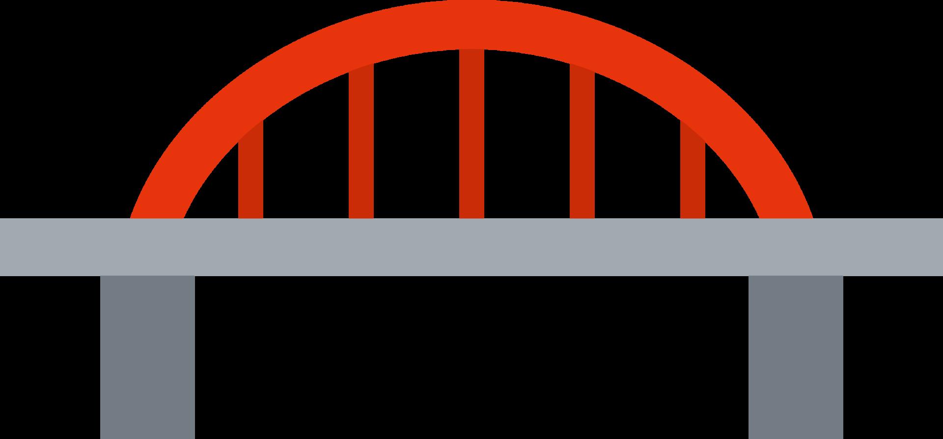 橋渡しのイラスト