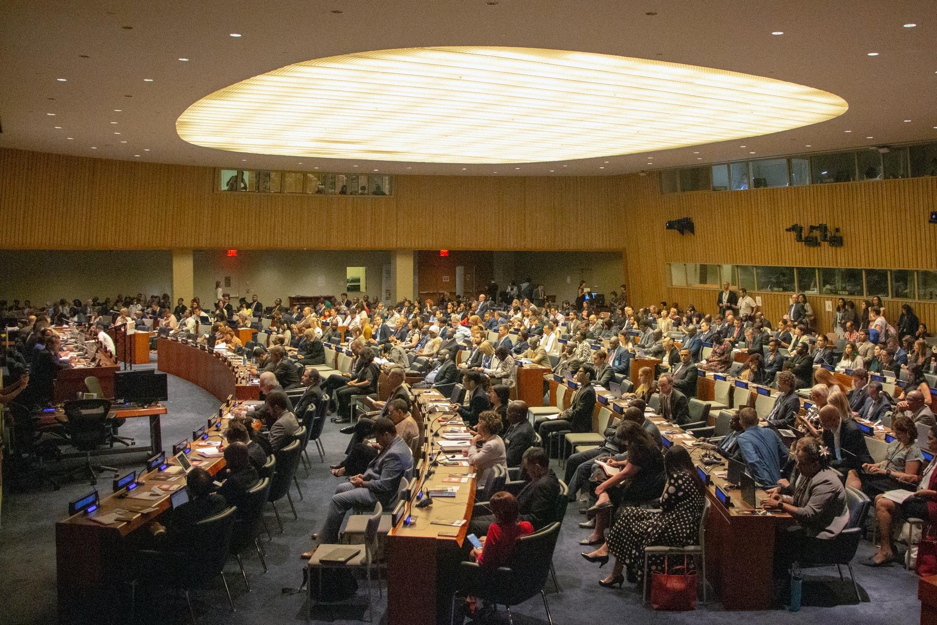 SDGsの会議の写真