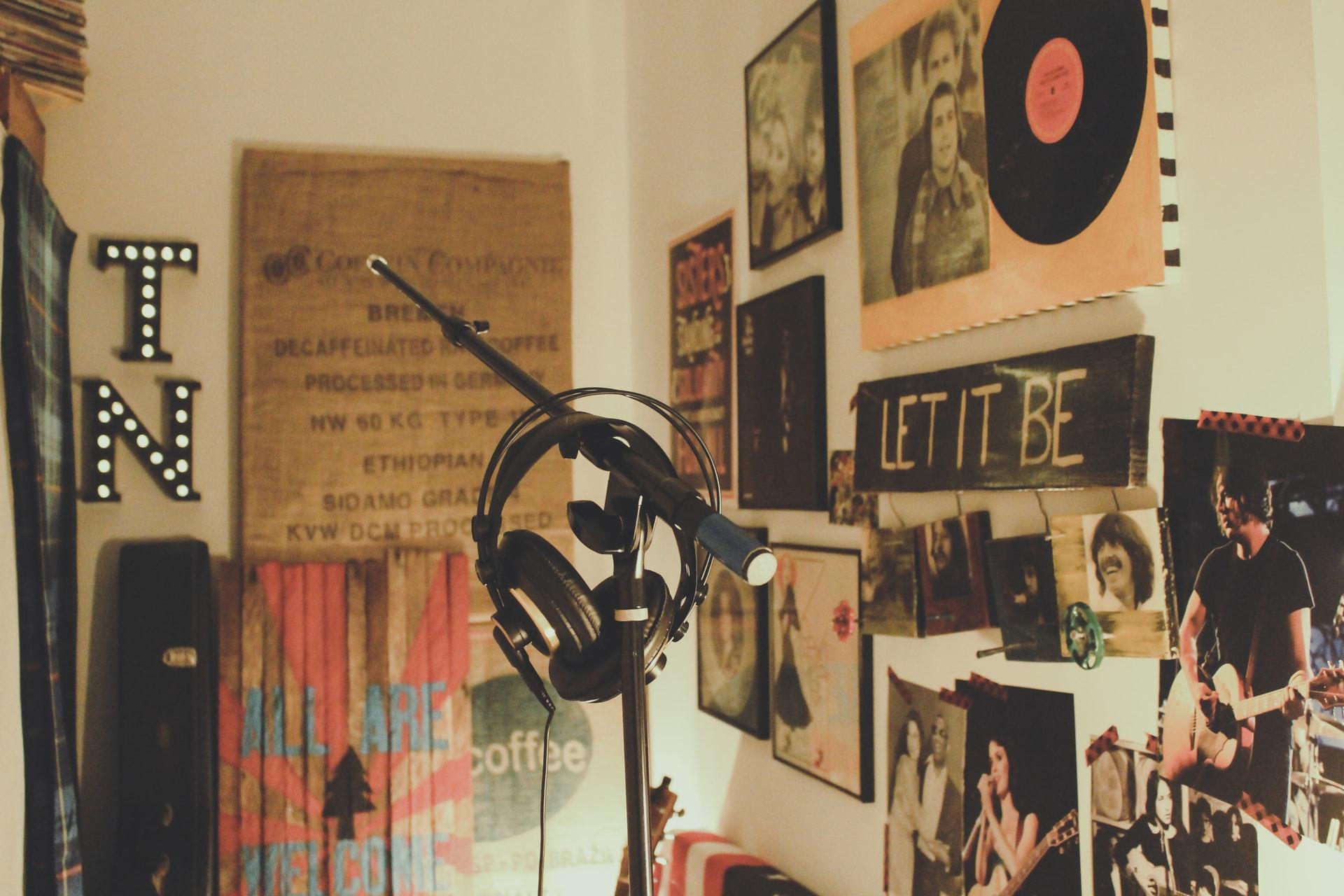 自宅の音楽機材