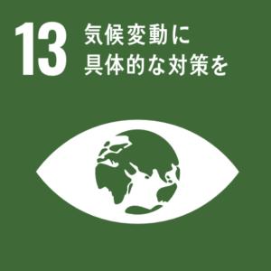 SDGsの目標⑬「気候変動に具体的な対策を」のアイコン