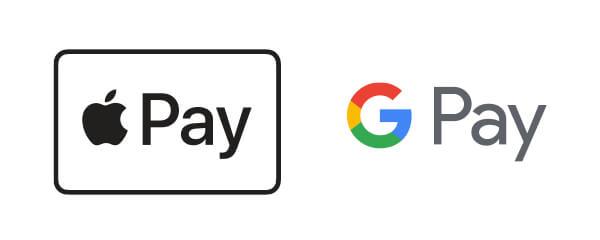 Apple PayとGooglePayのロゴマーク