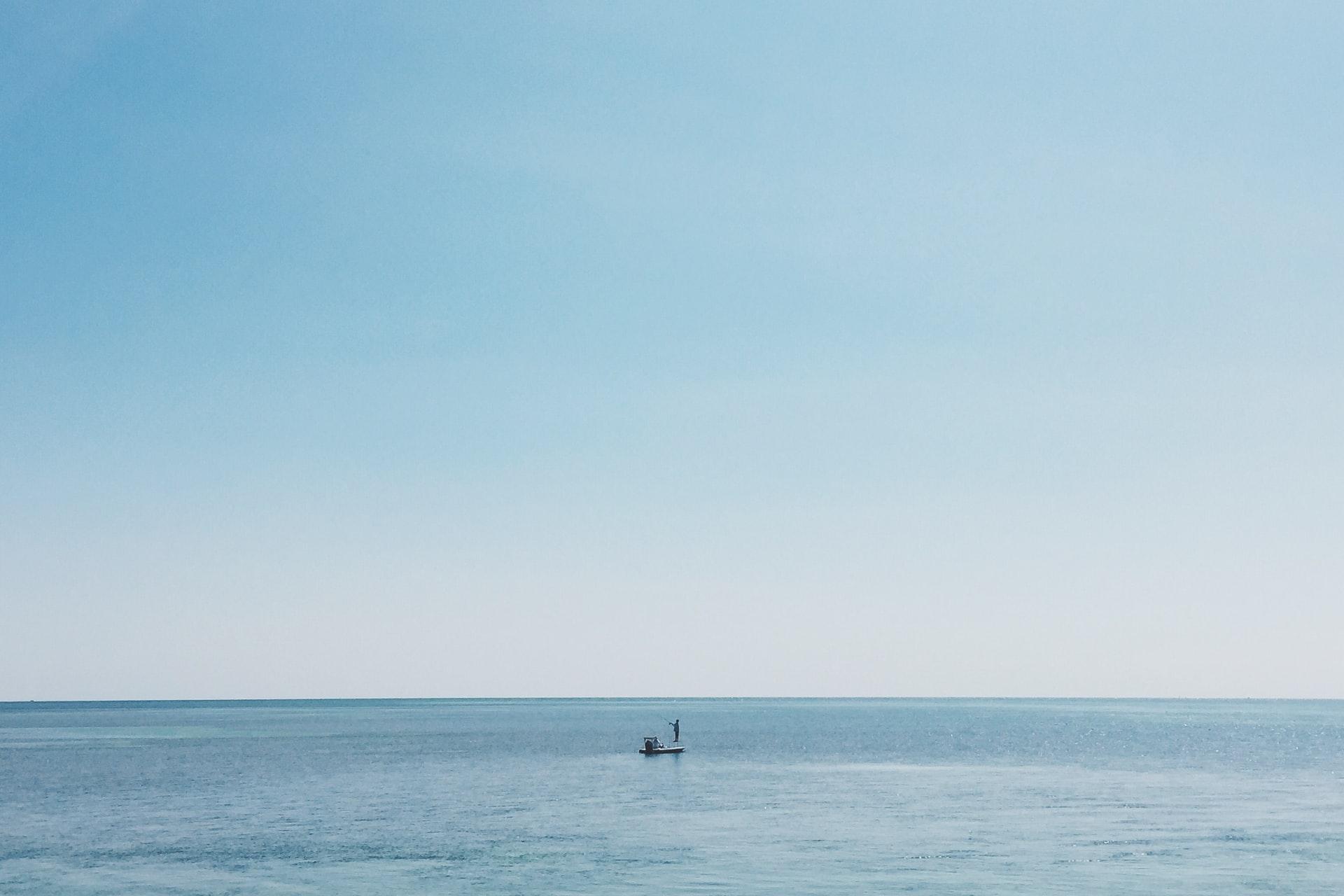 キレイな海の写真