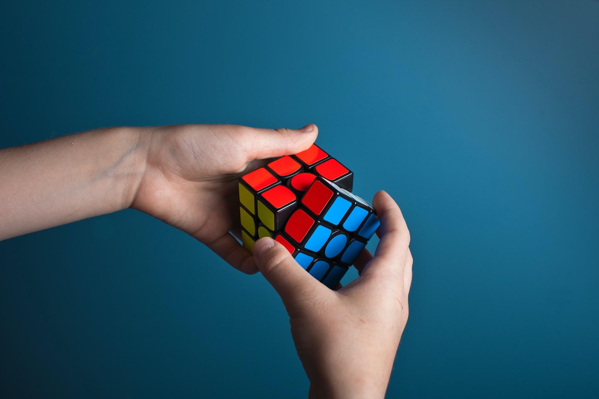 ルービックキューブのイメージ