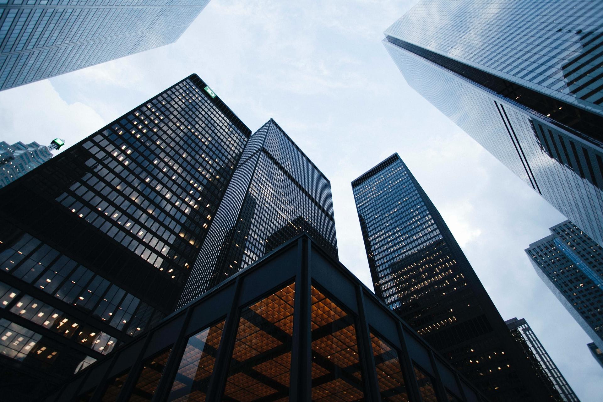 高層ビル街